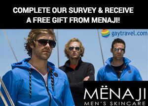 Take our survey and receive a free gift from Menaji